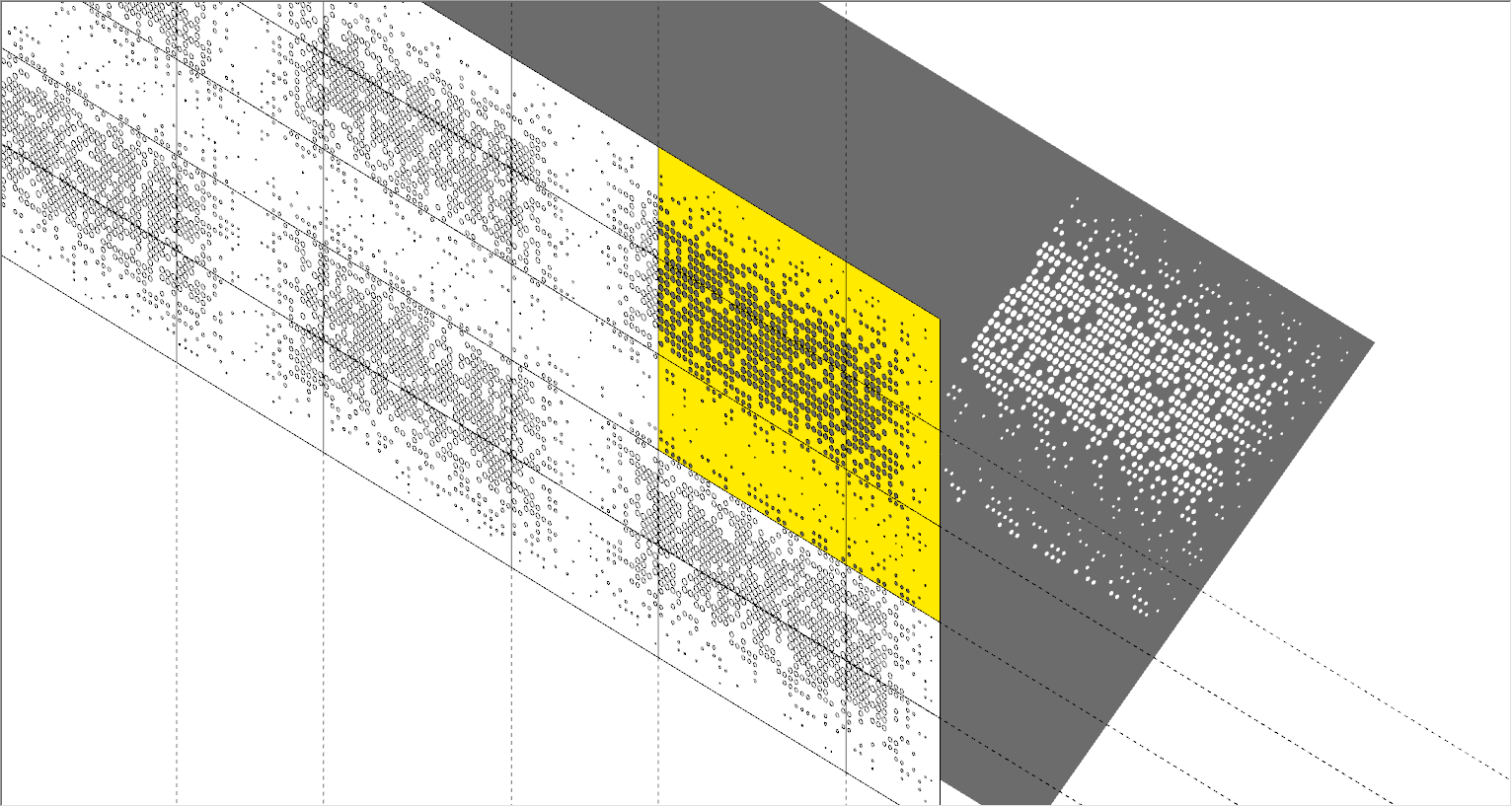 Modeling perforated metal facades in SketchUp - Process